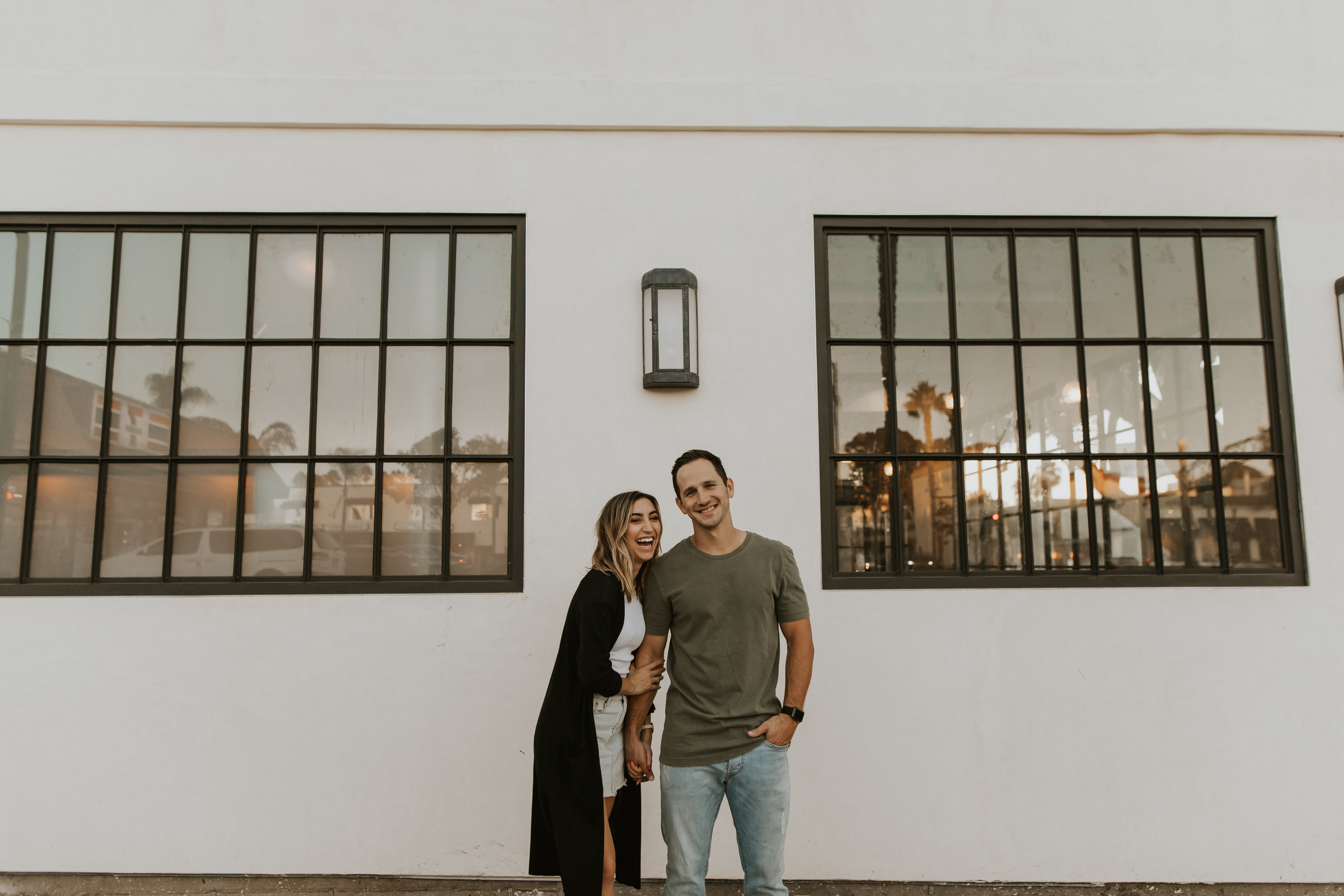 downtown Encinitas couples session