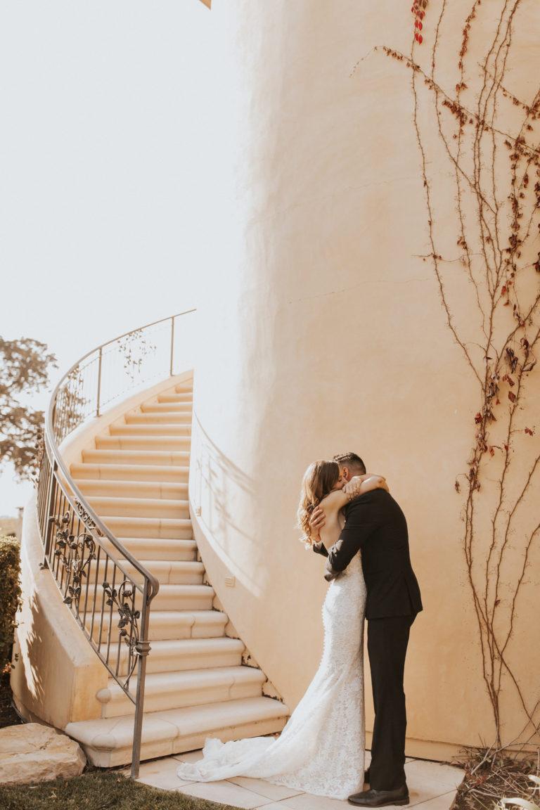 Authentic and Elegant Destination Wedding in California