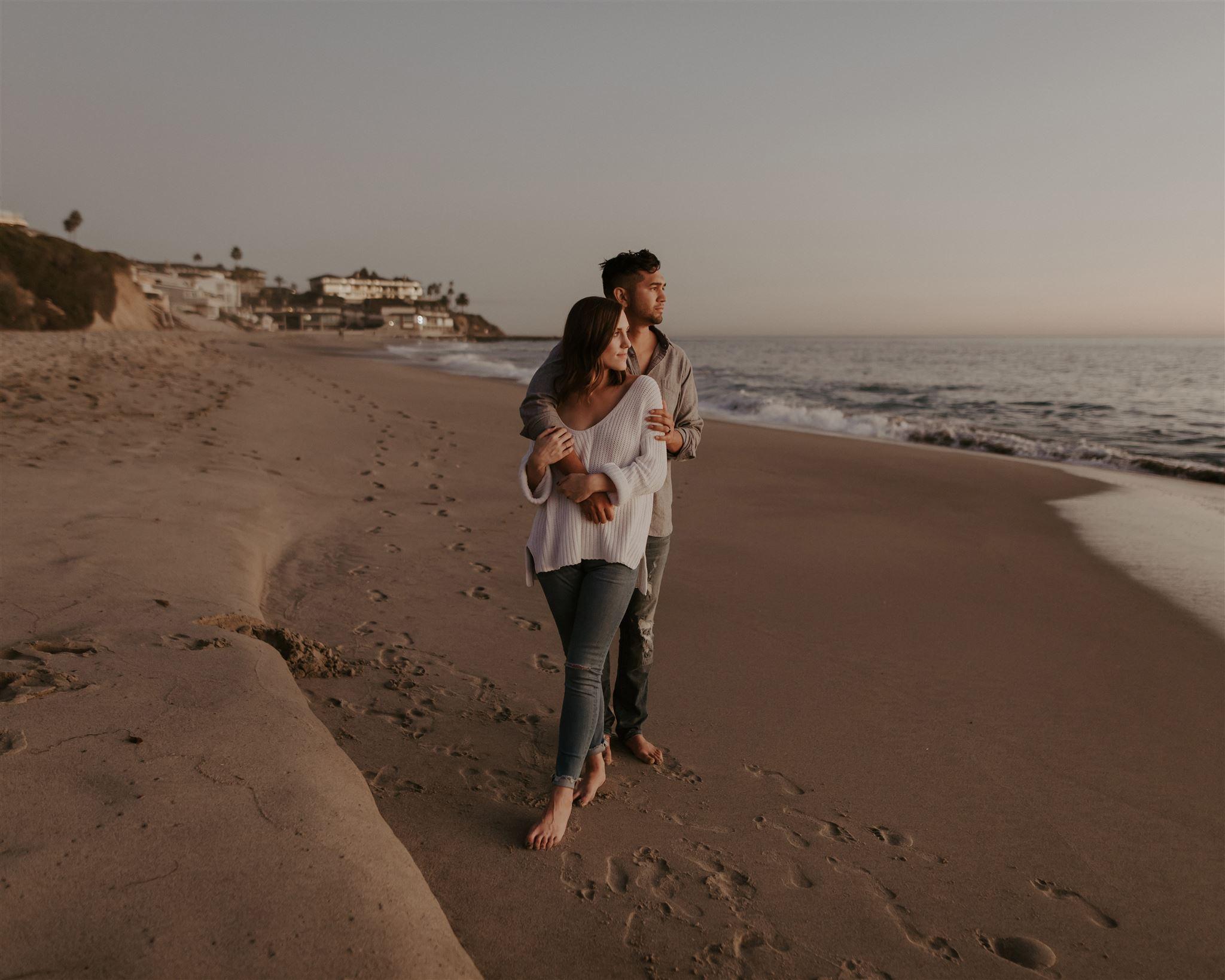 Romantic Laguna Beach California Anniversary Session