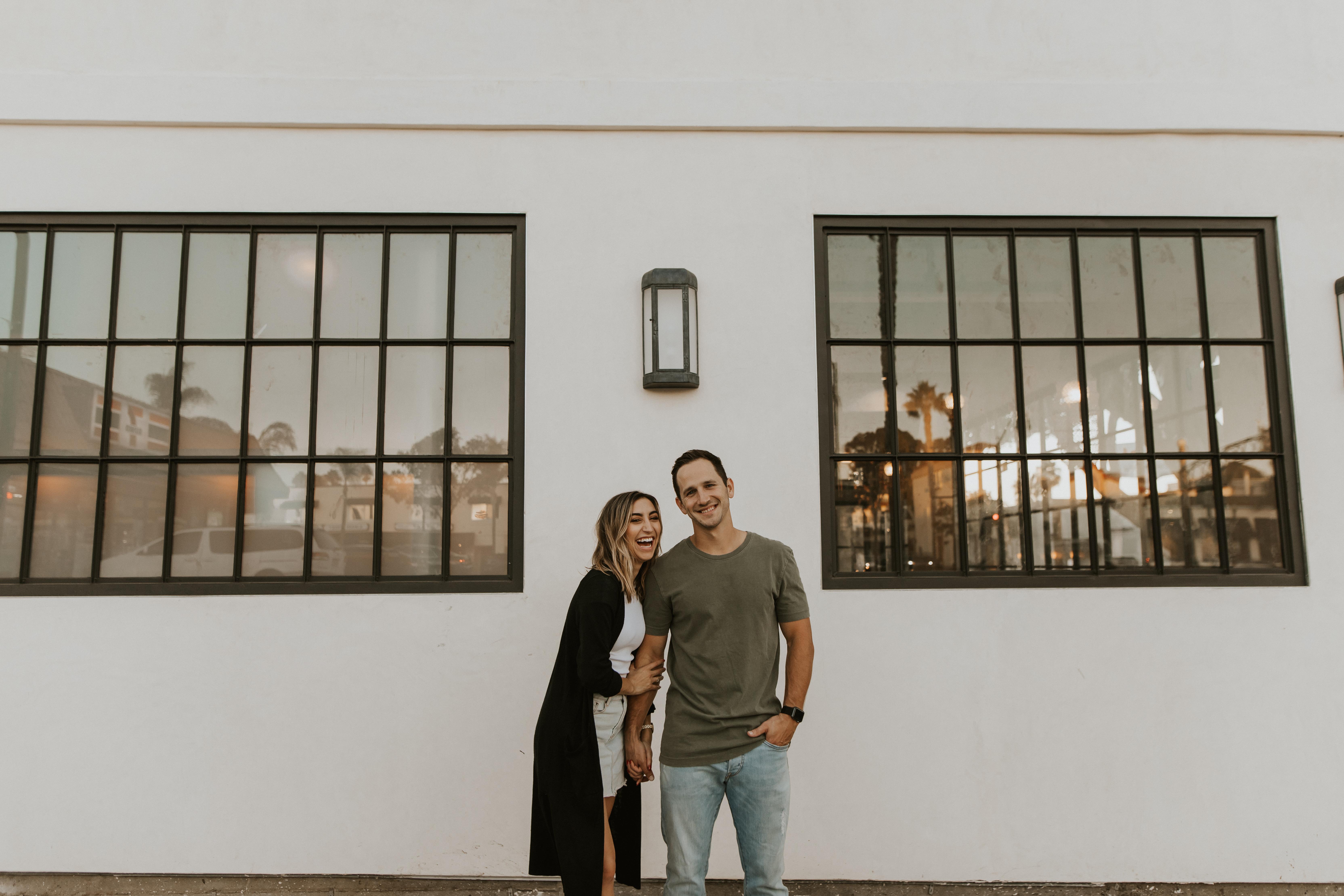 downtown Encinitas couples session